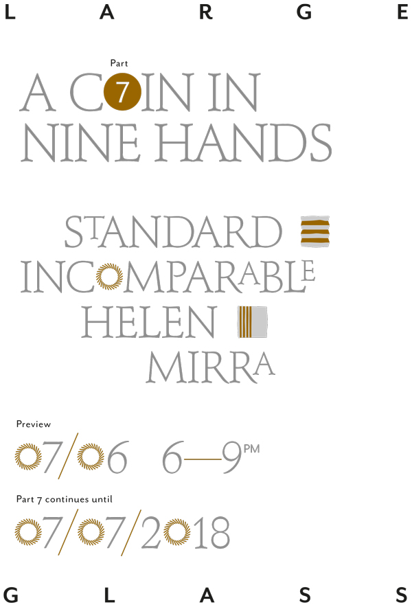 Exhibition invite: A Coin in Nine Hands Part 7 6 June to 7 July